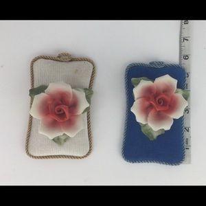 Capodimonte flowers. Excellent condition vintage